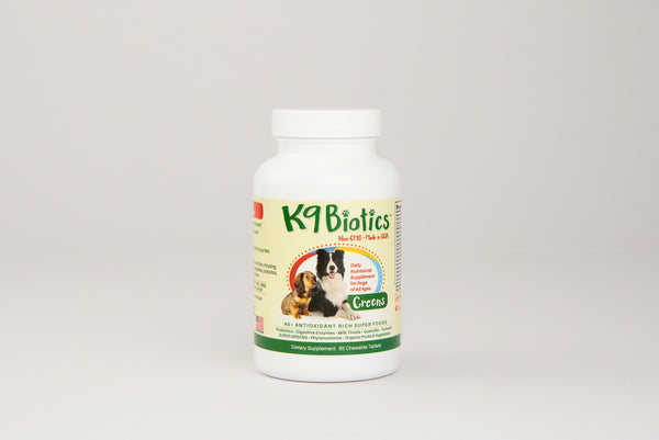 K9 Biotics Boost your dog's immune system with a probiotic and enzyme blend 65ct tablets