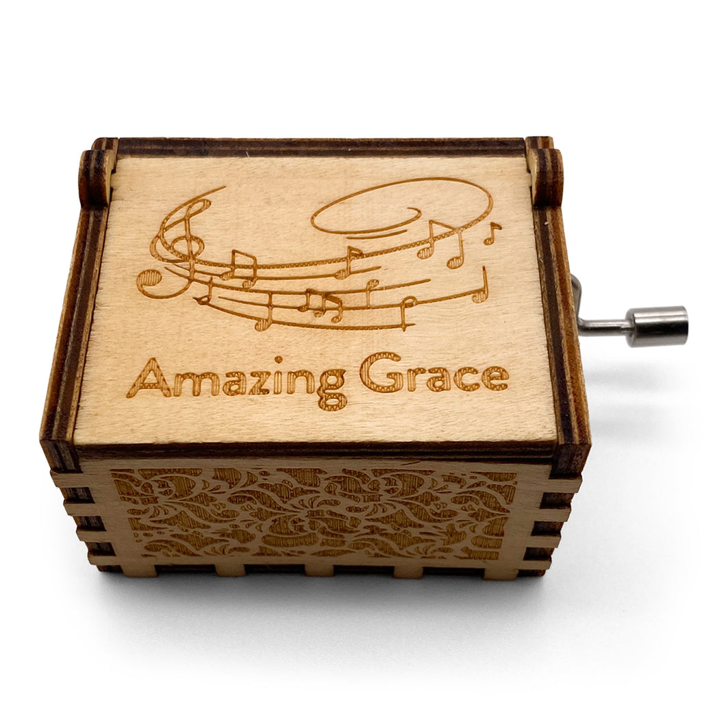 Amazing Grace Custom Music Box
