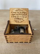 Load image into Gallery viewer, O Come All Ye Faithful Custom Music Box
