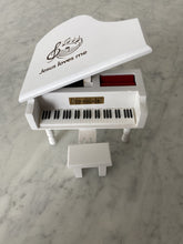 Load image into Gallery viewer, Jesus Loves Me White Piano Custom Music Box