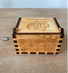 Lord's Prayer Custom Music Box