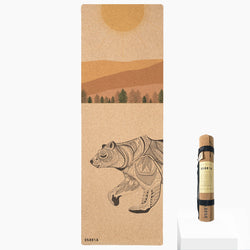 *PRE-ORDER* Day Bear Cork Yoga Mat | 3.5MM | Collab Edition - Scoria