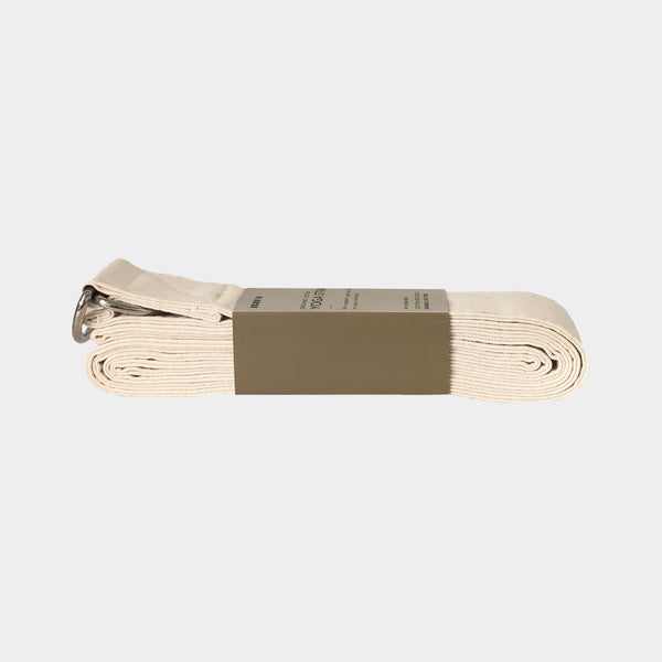 Organic Cotton Yoga Stretch Strap - Scoria