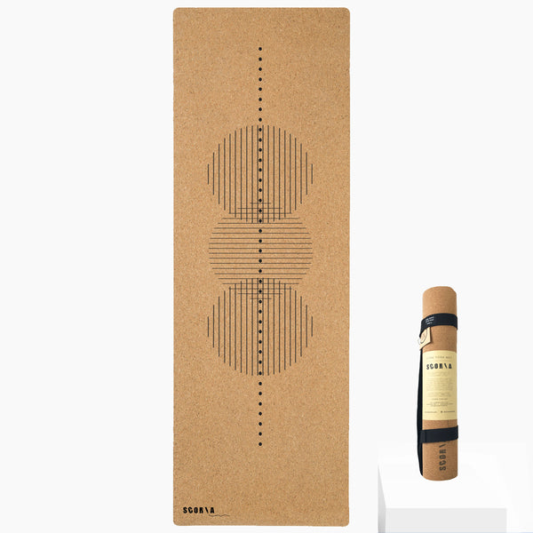 Revolve Cork Yoga Mat | 4.5MM - Scoria