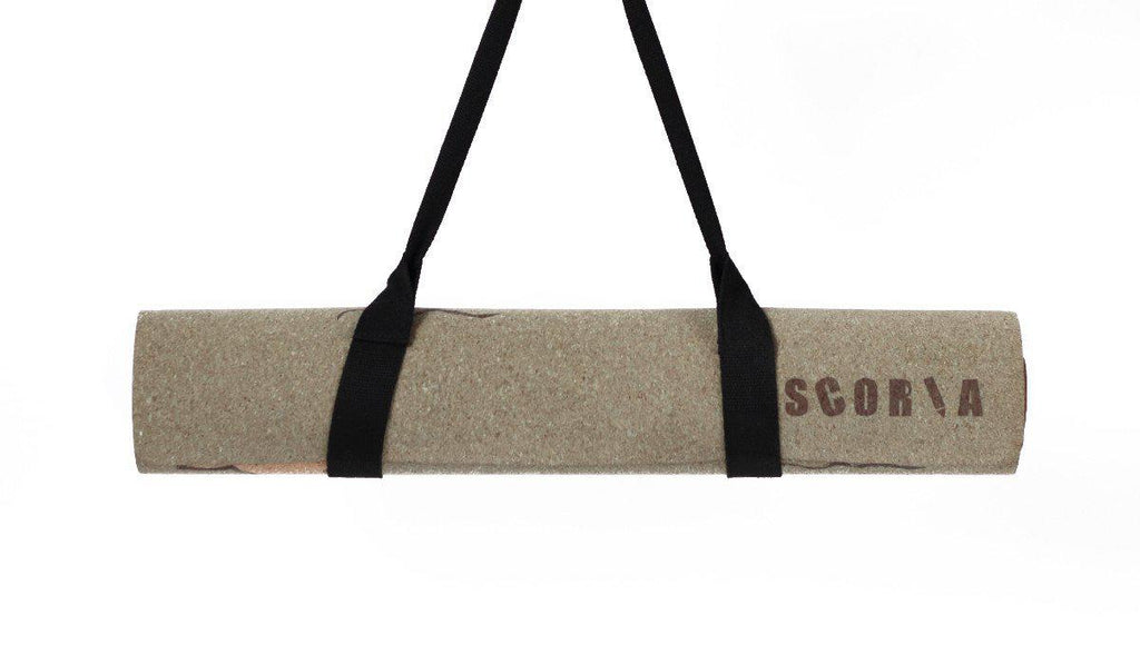 Connection Cork Yoga Mat - Scoria
