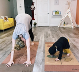 Kids BIG Cork Yoga Mat - Scoria
