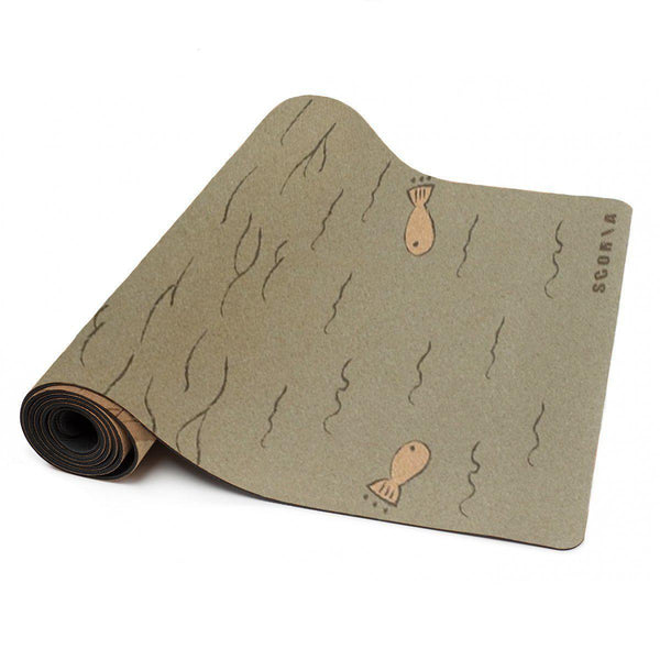 Connection Cork Yoga Mat | 3.5MM - Scoria