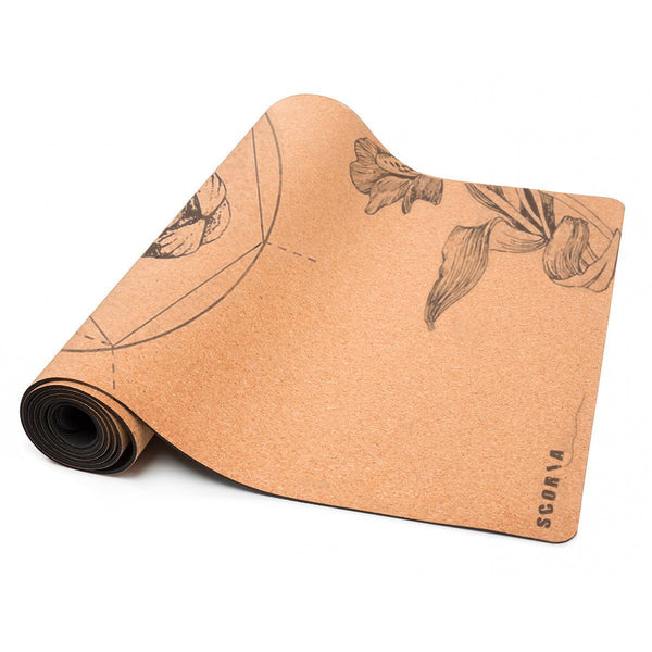 *PRE-ORDER* Mountain Lion Cork Yoga Mat (3.5MM) * Limited Edition* - Scoria