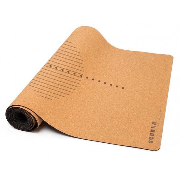 Revolve Cork Yoga Mat (4.5MM) - Scoria