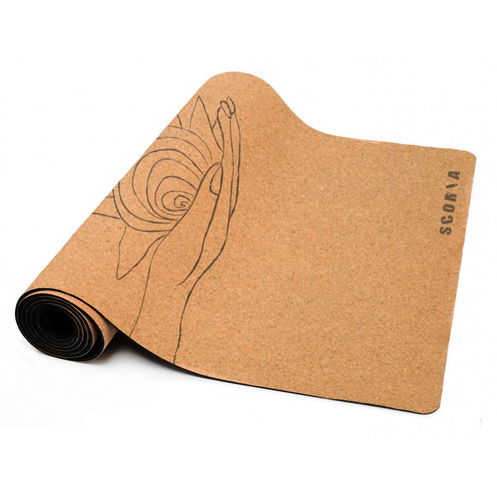 Wide Universe Cork Yoga Mat (3.5MM) *Limited Edition* - Scoria