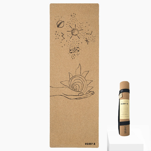 *PRE-ORDER* Universe Cork Yoga Mat | 4.5MM | Limited Edition - Scoria