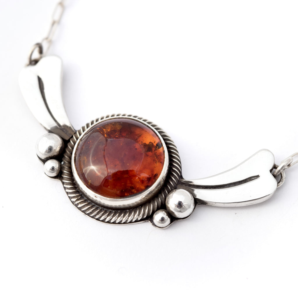 Amber Collar Necklace