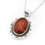 Amber Frame Necklace