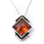 Amber Angle Necklace