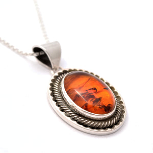 Amber Notch Necklace
