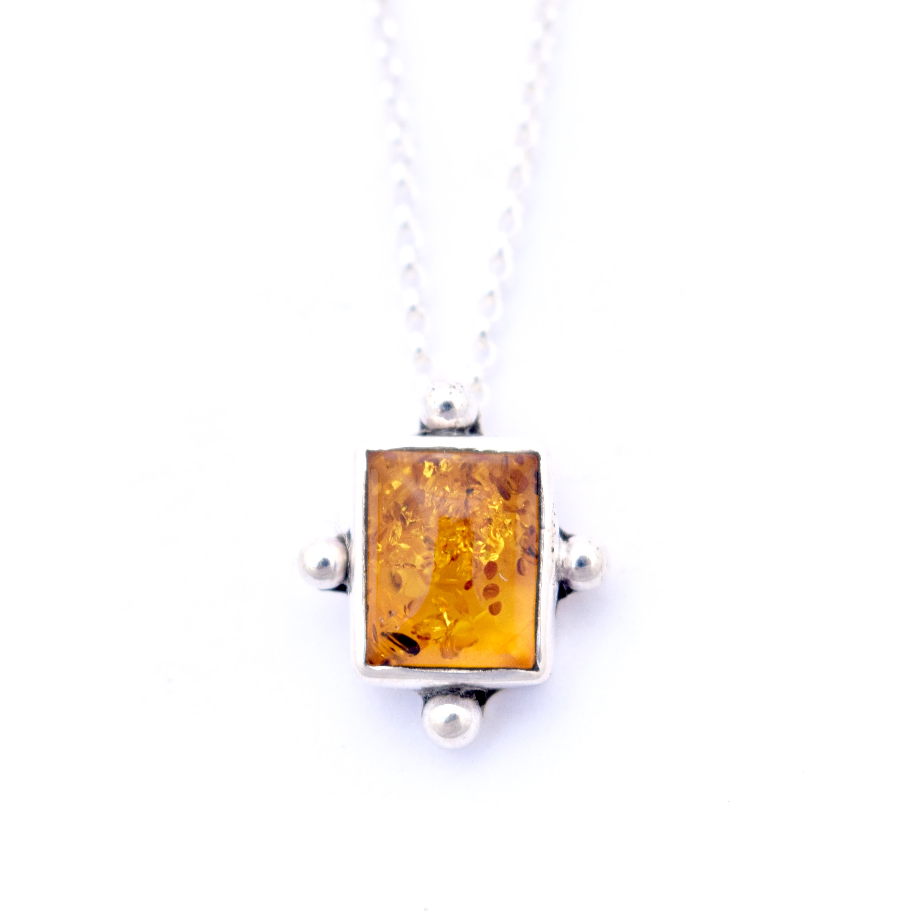 Amber Dot Necklace