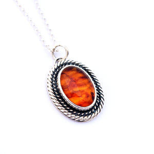 Amber Layer Necklace
