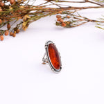 Amber Shine Ring : Size 6