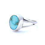 'Grace' Kingman Turquoise Ring : Size 7