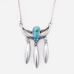 'Lily' Kingman Turquoise Necklace