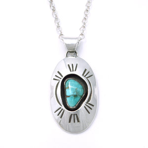 'Kenzie' Kingman Turquoise Necklace