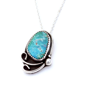 'Theia' Kingman Turquoise Necklace