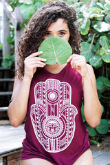 Tribal Hamsa Muscle Tank | Koalani Apparel