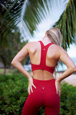 Koa - Lava Red Sports Bra