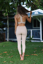Koalani Apparel | Yoga Activewear & Workout Clothing | Koa Terra Sand Pocket Leggings & Sports Bra