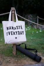 Namaste Everyday Tote Bag