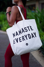 Koalani Apparel | Aloha Inspired Yoga Wear | Namaste Everyday Tote Bag