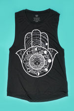 Solar Hamsa Tank | Yoga Clothing & Tops | Koalani Apparel