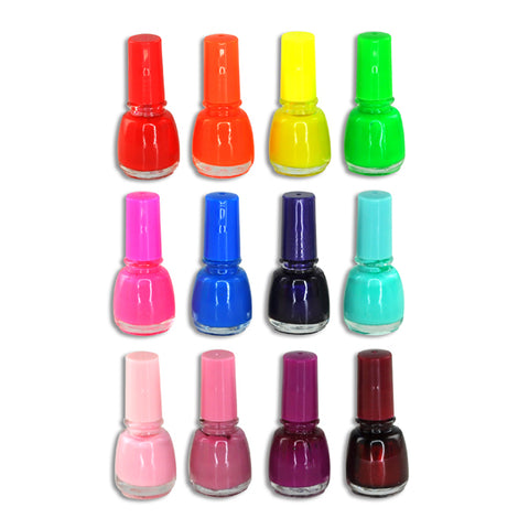 Colorful Nail Polish 12 Pack