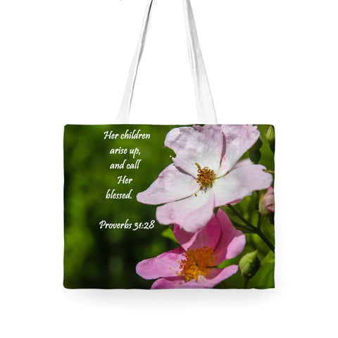 Proverbs 31 Tote Bag For Mothers