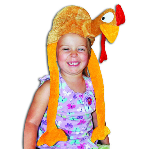 Plush Thanksgiving Turkey Party Hat
