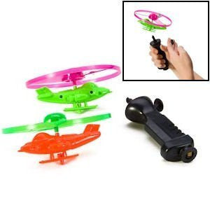 PULL LINE HELICOPTER WITH LIGHTS PLAY SET