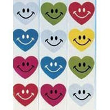 Smile Hearts Stickers (100/Roll)