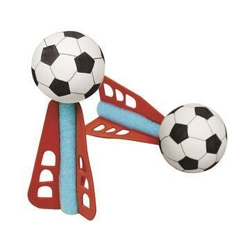 Mini Soccer Ball Missiles - Games & Activities & Flying Toys & Gliders by Oriental Trading Company