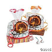 Peanuts Thanksgiving Party Loot Cellophane Bags