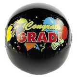 GRADUATION BEACH BALLS (1 DOZEN) - BULK by Fun Express