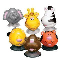 Zoo Animal Pop Up Toys (1-Pack of 12)