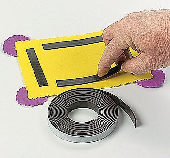 Magnetic Tape - Basic School Supplies & Glue, Tape & Scissors