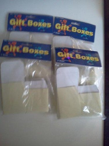 "Gift Boxes 2"" Cream Color"