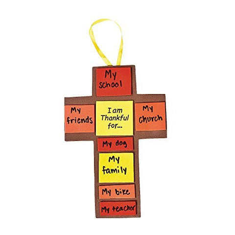I Am Thankful For Fall Cross Craft Kit - Makes 12
