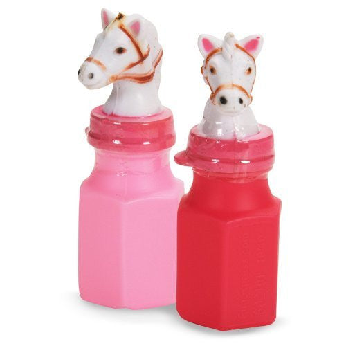 Lets Party By Fun Express Pink Cowgirl Bubble Bottle