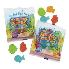 Aquatic Character Gummy Fun Packs - Summer & Candy