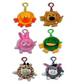 "3"" Cute Plush Mini Animal Coin Purses (12 Pack)"