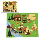 Beary Happy Thanksgiving Sticker Scenes - Stickers & Labels & Sticker Scenes