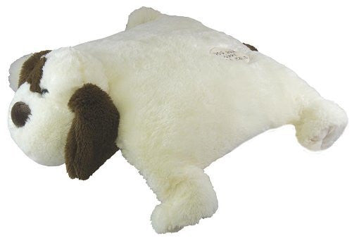"Plush Pals ""Dog Gone Happy"" Dog Animal Pillow"