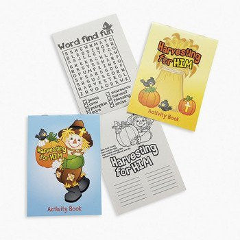 Fall Inspirations Harvest Activity Pads - Sunday School & Stationery